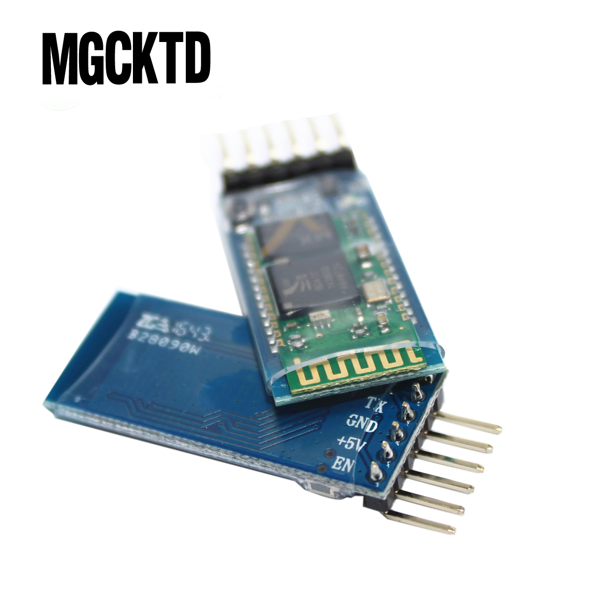 Original 10pcs/lot 2.4G GHz Serial Port Bluetooth Module HC 05 Master Slave For GPS Receiver MCU  HC 05-in Integrated Circuits from Electronic Components & Supplies    1