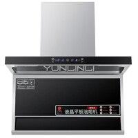 Бытовые вытяжка Нержавеющаясталь вытяжной вентилятор Touch Управление + движения зондирования Управление кухонный вентилятор HW 902