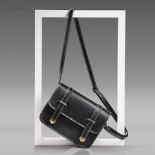 купить PU Material Trend Retro Wild Small Square Bag Shoulder Messenger Bag 2019 Famous Brand Handbag по цене 428.99 рублей