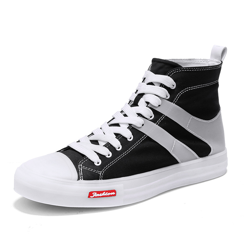 Chaussures en toile haut De gamme pour hommes Style De luxe chaussures tendance nouvelle mode chaussures plates pour homme baskets Chunky chaussures hommes décontractées Zapatos De Hombr