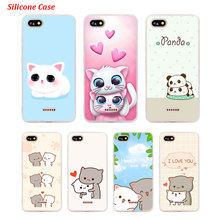 Silicone Phone Case cute cats for Xiaomi Redmi S2 Note 4 4X 5 5Pro 5A Plus 6 6A 7 Pro Cover