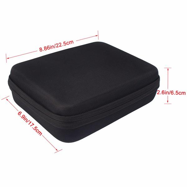 Black Storage BoxBag Carrying Case (2)