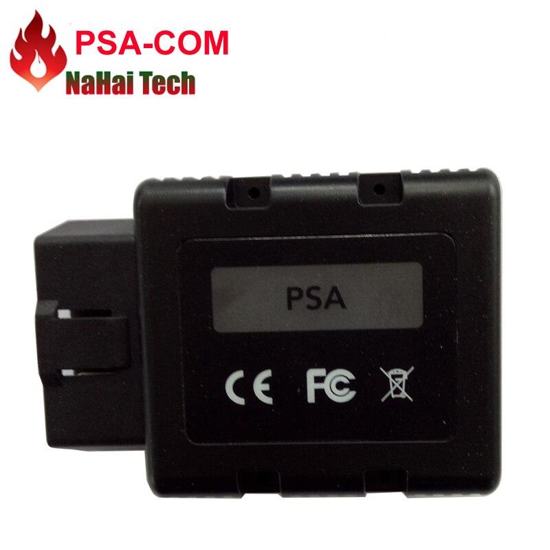 Цена за 2017 для Citroen Peugeot psacom PSA-COM Bluetooth PSA com Bluetooth OBD OBD2 для ЭБУ/ключ программирования/DTC диагностический инструмент
