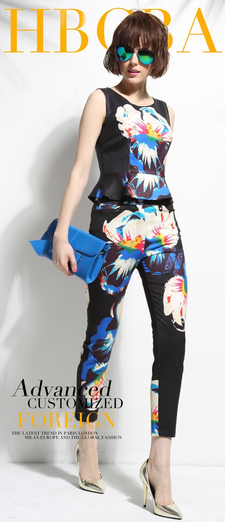 Cool Women Summer pant suits (15)