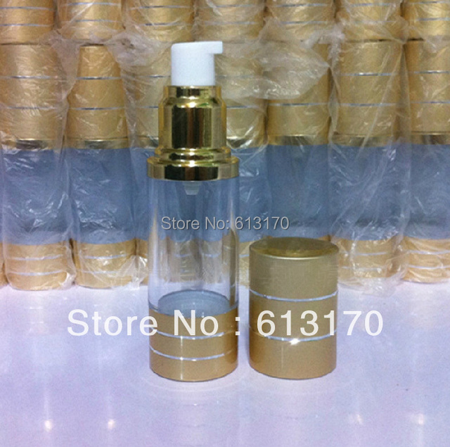 30ml airless bottle Cosmetic Bottle airless vacuum pump bottle Free shipping