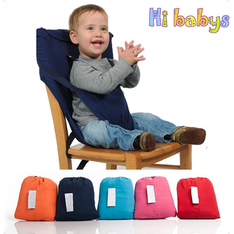 Cadeira Portátil do bebê Infantil Transportadora Assento Jantar Almoço Cadeira/Assento Para Crianças Cinto de Segurança Alimentar Cadeirinha Harness Baby assento da cadeira