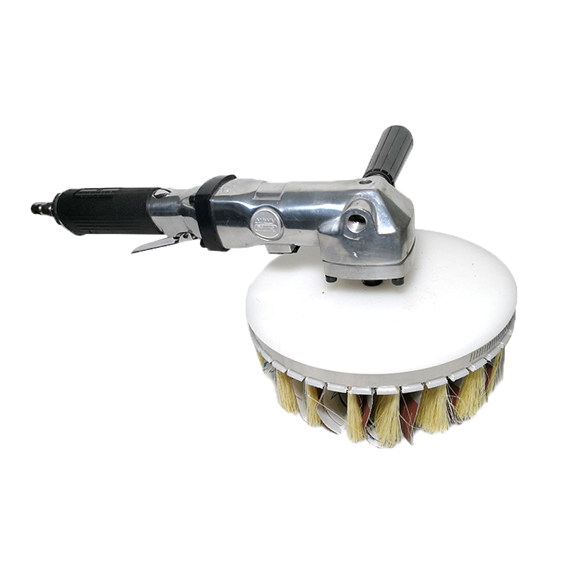 Pneumatic sander 7 inch grinder mill special shape polishing tool woodworking paint brush emery brush board