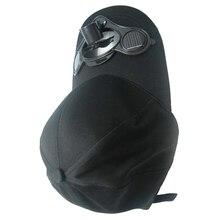 2019 New Cloth Power Cap Outside Sport Cooling Fan Hats Solar Powered Air Fan Cooled Baseball Hat  22 cm Black stylish baseball hat cap with solar powered cooling fan yellow