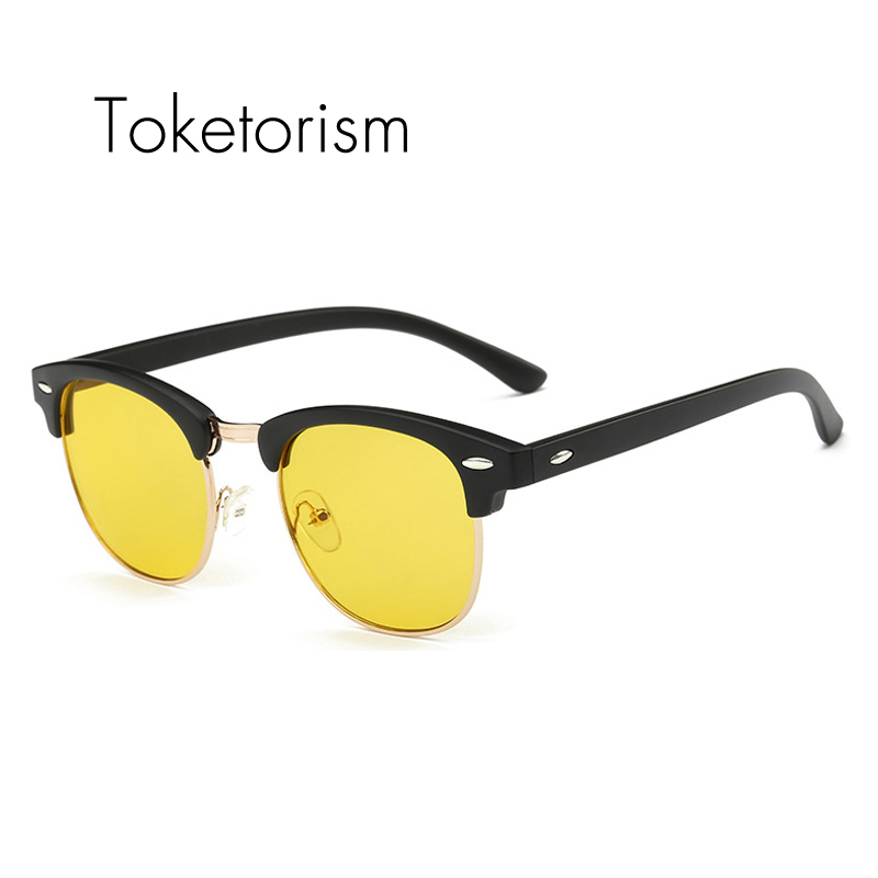 Toketorism New Anti Blue Rays Computer Goggles unisex gaming glasses semi rimless frames 6103