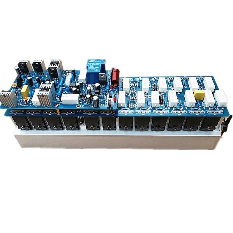 NEW 24PCS C5200 A1943 Power Tube JRC5532D Op Amp Assembled 1300W Powerful Amplifier Board / Mono Amp Board Stage Amplifer Board