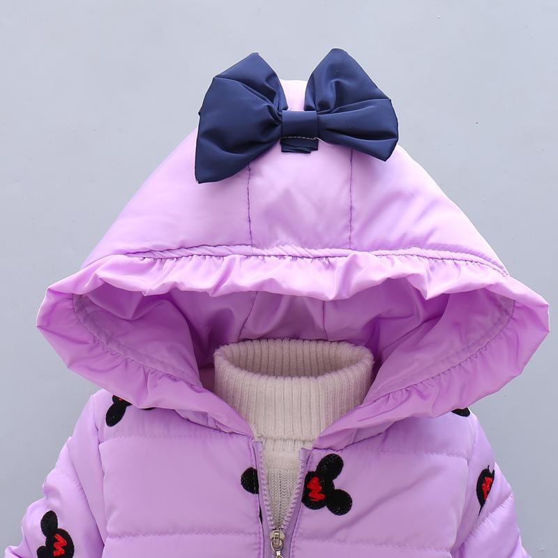 LZH Baby Girls Jacket 19 Autumn Winter Jacket For Girls Coat Kids Warm Hooded Outerwear Coat For Girls Clothes Children Jacket 15