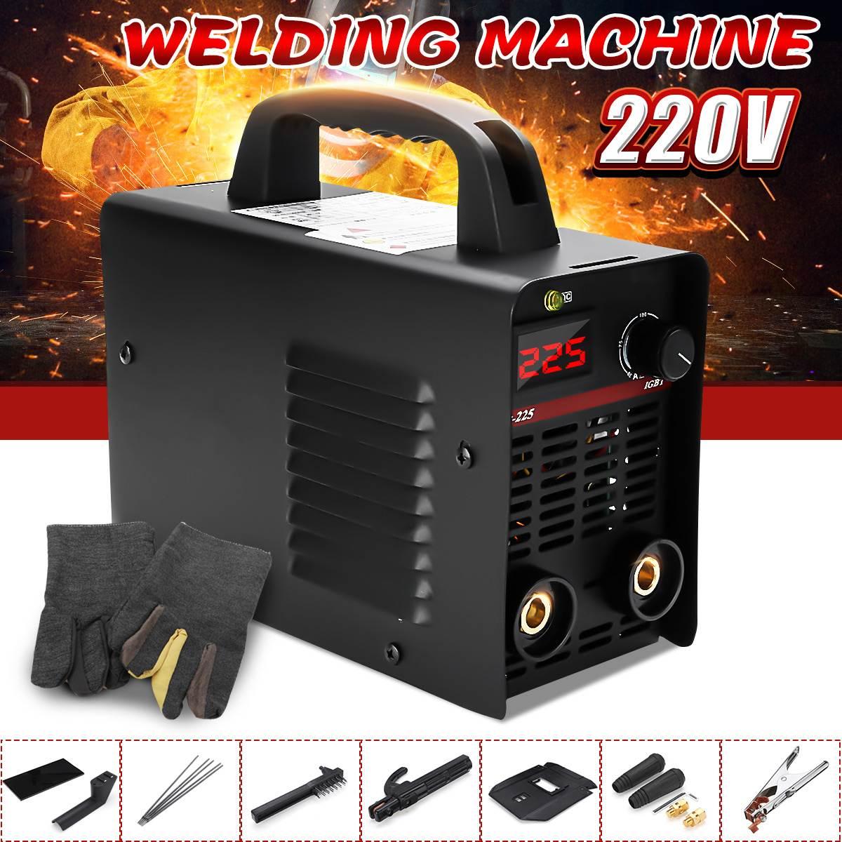 Handheld Inverter Electric Mini ZX7 225 220V 2.5 Metal Stick Welder Machines Electrode Welding Soldering Portable Machine Tools
