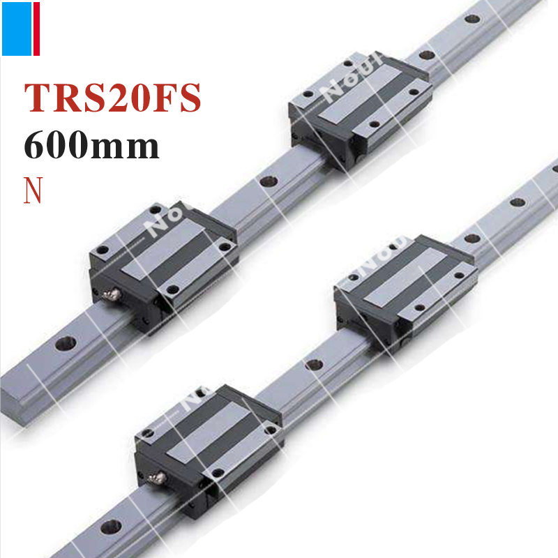TBI TR20N 600mm linear guide rail with TRS20FS slide blocks stainless steel CNC sets TBIMOTION винт tbi sfkr 0802t3d