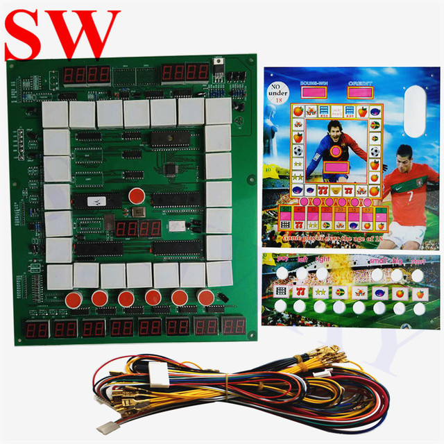 Fine Aliexpress Com Buy New Fruit Mario Game Pcb Board With Wiring Wiring 101 Kniepimsautoservicenl