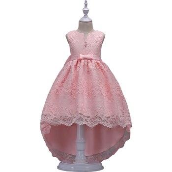 68e483070 Vestido de las niñas, las niñas, vestidos de fiesta, 2018 nuevo Tutu bebé  sin mangas princesa flor vestidos de los niños chico está siguiendo ropa  3-12Y