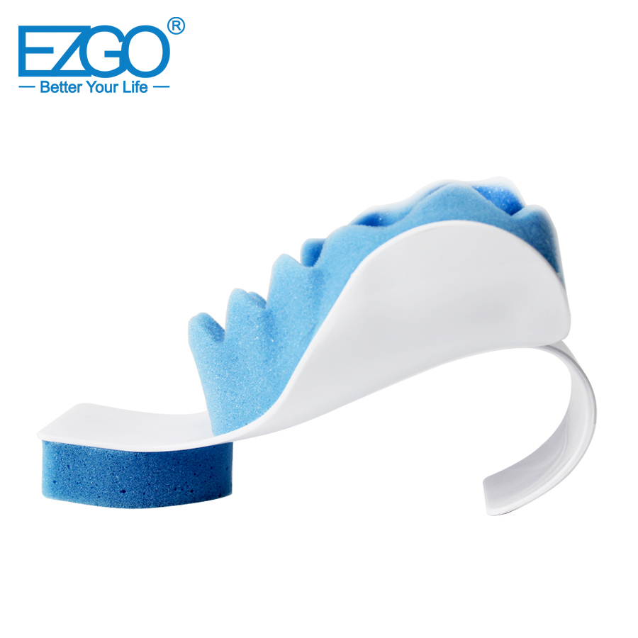buy ezgo neck pillow massager neck and shoulder relaxer real ease neck support therapeutic neck support tension reliever from reliable