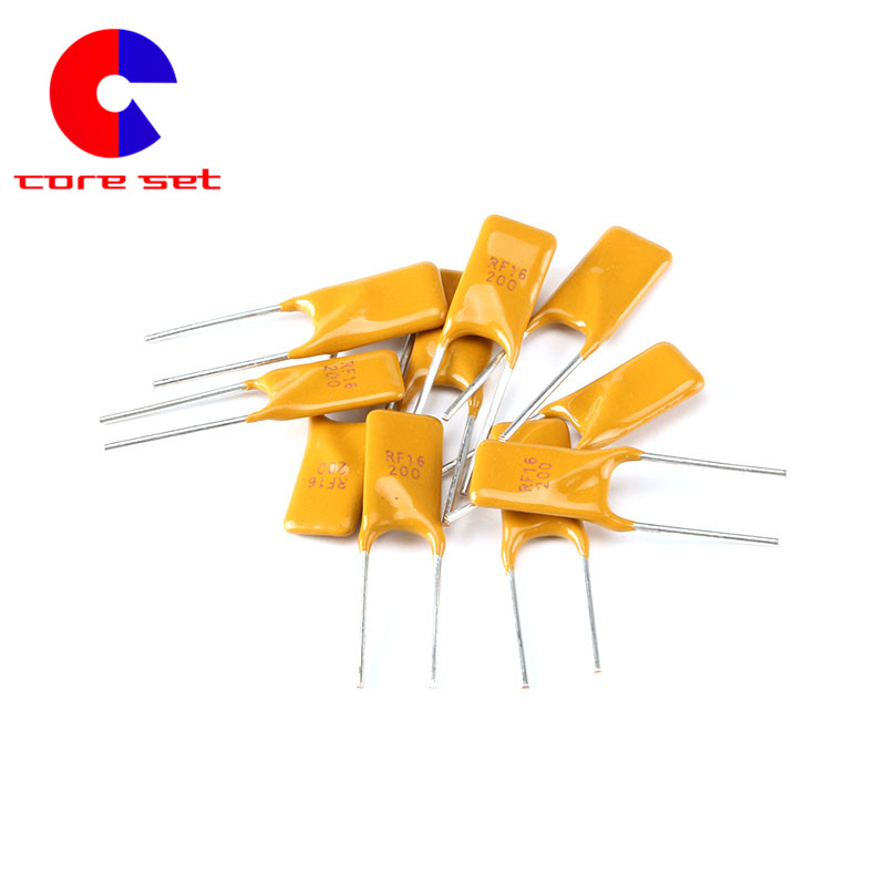10PCS Lot 16V 2A PPTC Resettable Fuse PTC Thermistor Polymer Self Recovery Fuses