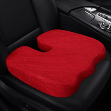 KKYSYELVA  1PCS Memory Foam Seat Cushion Helps With Sciatica Back Pain - Perfect for Your Office Chair Car Covers