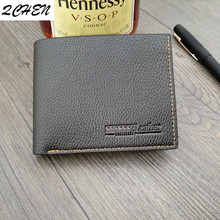 Men Wallets Fashion Mens Wallet with Coin Bag Zipper Small Money Purses Dollar Slim Purse Money Clip Wallet Buckle wholesale 036