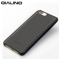 QIALINO Luxury Genuine Leather Cover Back Case for iPhone7 7plus 4.7/5.5 Handmade Phone Accessories Bag with Retail Package