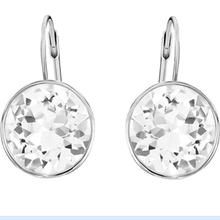 High Quality 1:1 SWA Best Crystal, 925 Silver Crystal Aristocratic Earrings цена и фото