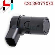 C2C29377XXX Black PDC Sensor Parking Reverse Sensor YDB500301 for Jaguar S Type XK X Type Land Rover Freelander Discovery 3