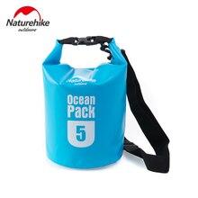 Naturehike Ooutdoor Dry Bag 5L Waterproof Bag Storage Sack High Quality Ultralight Dry Sack For Drifting Swimming River Trekking