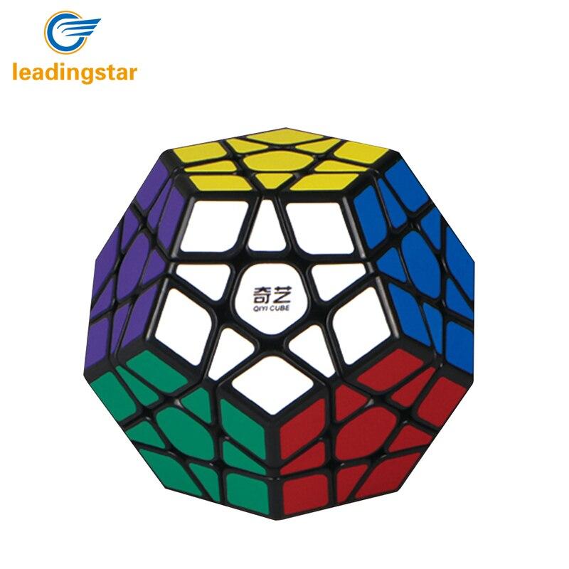 LeadingStar 3rd auftrag Megaminx Magic Cube Stickerless Dodekaeder Geschwindigkeit Würfel Gehirn Teaser Twist Puzzle Spielzeug