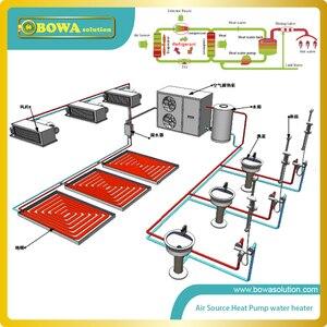 Image 3 - 22 צלחות חום מחליף כמו 21KW הקבל או 14KW מאייד של R410a משאבת חום מים דוד, להחליף SWEP מחליף חום