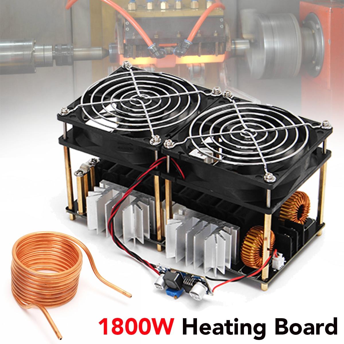 1800 Вт 12 В-48 В 40A высокочастотный индукционный нагрев модуль без коснитесь