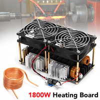 1800W 12V 48V 40A High Frequency Induction Heating Module Without Tap