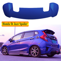 For Honda fit JAZZ 2014 2019 Rear Wing Spoiler, Trunk Boot Wings Spoilers paint ABS 3m Paste EMS transport