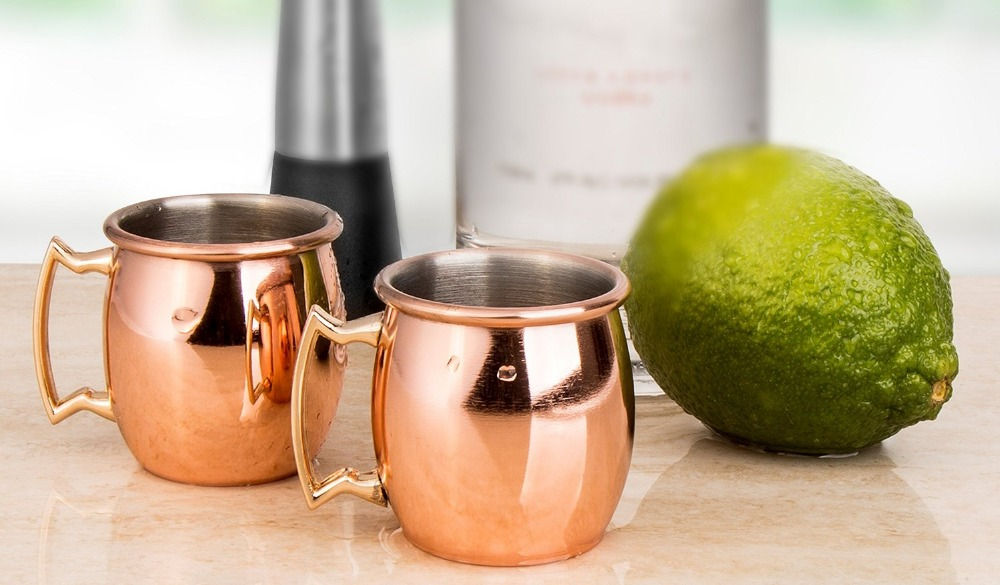 buy sky fish mini 2oz stainless steel moscow mule mug copper mug shot mugs excluding tree drinkware free shipping from reliable moscow mule - Moscow Mule Copper Mug