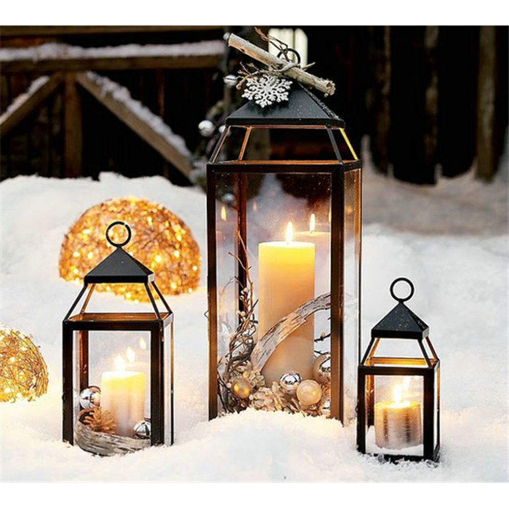 warm snow candlestick 3d diy diamond painting kits for square full drill rhinestone. Black Bedroom Furniture Sets. Home Design Ideas
