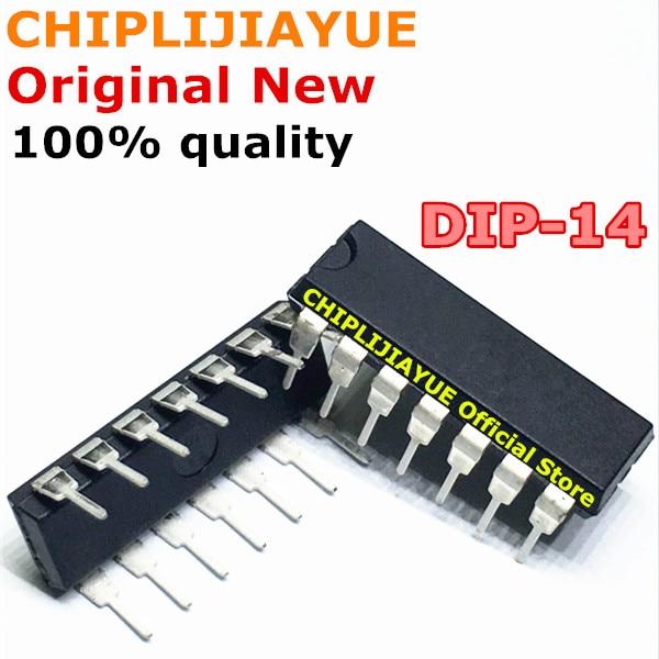 (10piece) 100% New CD4011 CD4011BE CD4011B DIP-14 Original IC Chip Chipset BGA In Stock