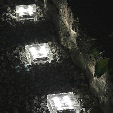 Luminaria LED Solar Garden Light ,Solar Powered Led Deck Underground Lawn Light Outdoor Lighting outdoor lighting solar powered panel led floor lamps deck light 3 led underground light garden pathway spot lights
