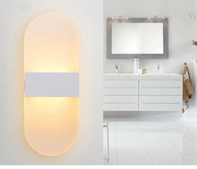 Minimalism LED Bathroom Wall Lamp