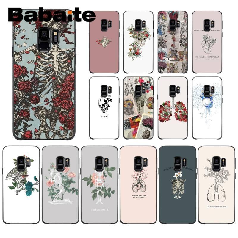 Babaite – coque de téléphone pour Samsung Galaxy S6, S7 edge, S6 edge plus, S5, S9 Plus