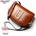 MALLUO Women Messenger Bags Genuine Leather Vintage Luxury Handbags Women Bag Designer CrossBody High Quality Ladies Totes Hot!!