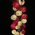 20 Rattan Balls luzes cordas led luzes de natal luzes de casamento decoração para uso com caixa