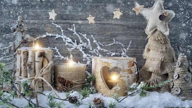 3 led verlichting gratis verzending kerstcadeau muur canvas print uitgerekt schilderen kerst kaarsen met