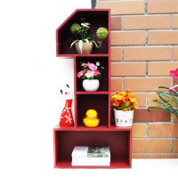 Creative Home Decoration Storage Rack Zakka Wooden Storage Holders Home Organization Wood Rack Sundries Storage Decoration