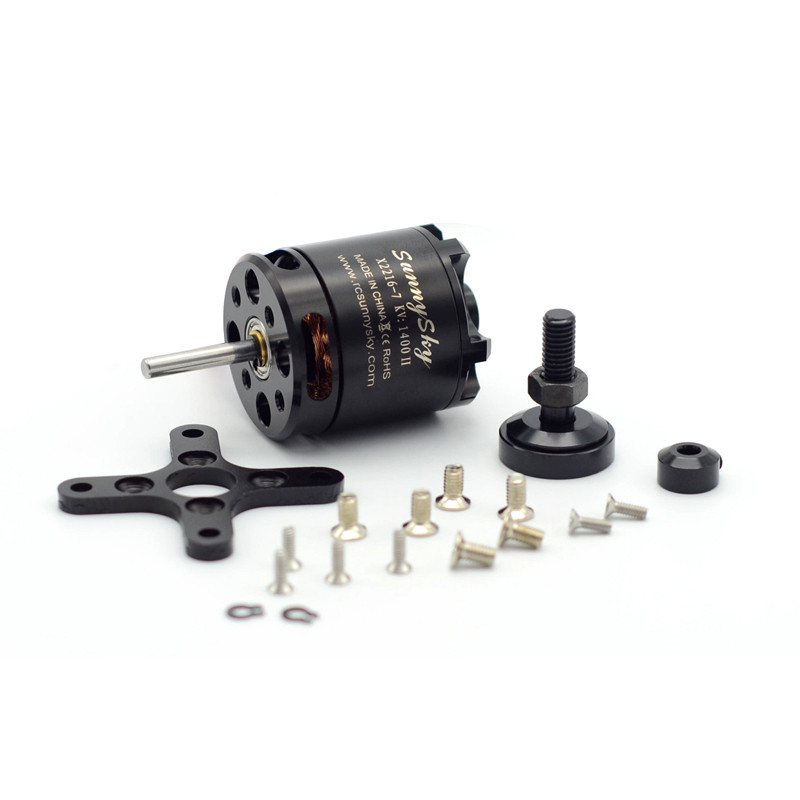 SunnySky X2216 2216 880KV 1100KV <font><b>1250KV</b></font> 1400KV 1800KV 2400KV II Outrunner Brushless Motor For RC Models 3D Airplane Drone image