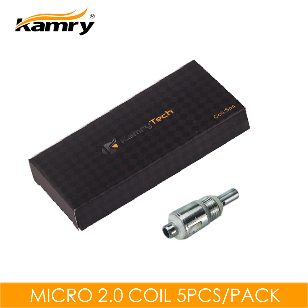 5pcs/Pack Original Kamry Micro 2.0 E-cigarette Atomizer Core Kecig 3.0 Replacement Coil Electronic Cigarette Atomizer Coil