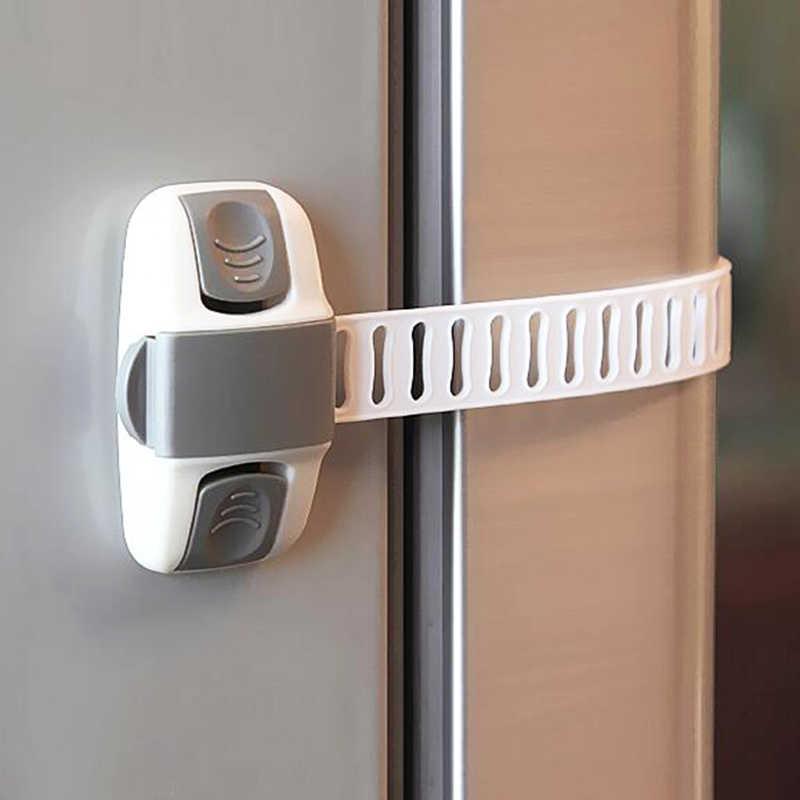 Baby Anti-Pinch Cabinet Toilet Childrens Drawer Safety Lock Refrigerator Childrens Drawer Lock 8 Pieces