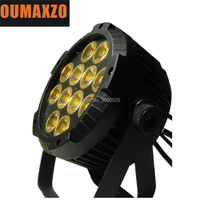 RGBWY Infinite color mixing 12X15W RGBAW 5in1 outdoor waterproof ip65 led par light dj led stage light