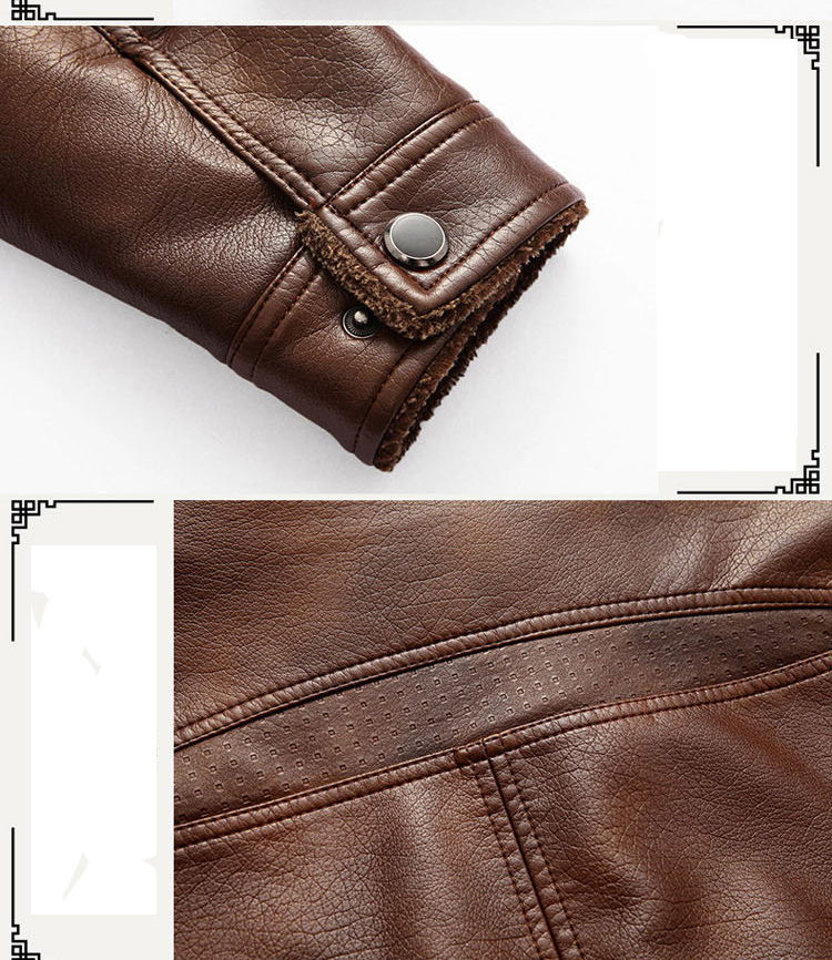 HTB1z7jqaJzvK1RkSnfoq6zMwVXa4 XingDeng PU Brand High Leather Jacket Men Coats plus 5XL Quality Outerwear Men Business Winter Faux Fur Male top clothes Fleece