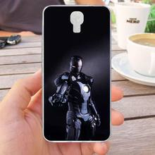 Mutouniao Avengers Design-8 Silicon Soft TPU Case Cover For Infinix Note 4 X572 Hot S3 X573 Smart X5010(China)
