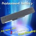 Jigu 5200 mah batería del ordenador portátil para asus n10e n10jb u3 u1 u3sg serie a32-u1 70-nlv1b2000m 90-nlv1b1000t 90-nqf1b2000t nbp6a138