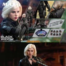 For Collection  Hot Toys Avengers III 1/6th Black Widow Natasha Romanoff Scarlett Action Figure Full Set Action Figure цена 2017